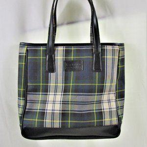 Ralph Lauren Blue and Green Shoulder Bag/Tote